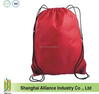 210 denier sling/drawstring /sport back bag with colours