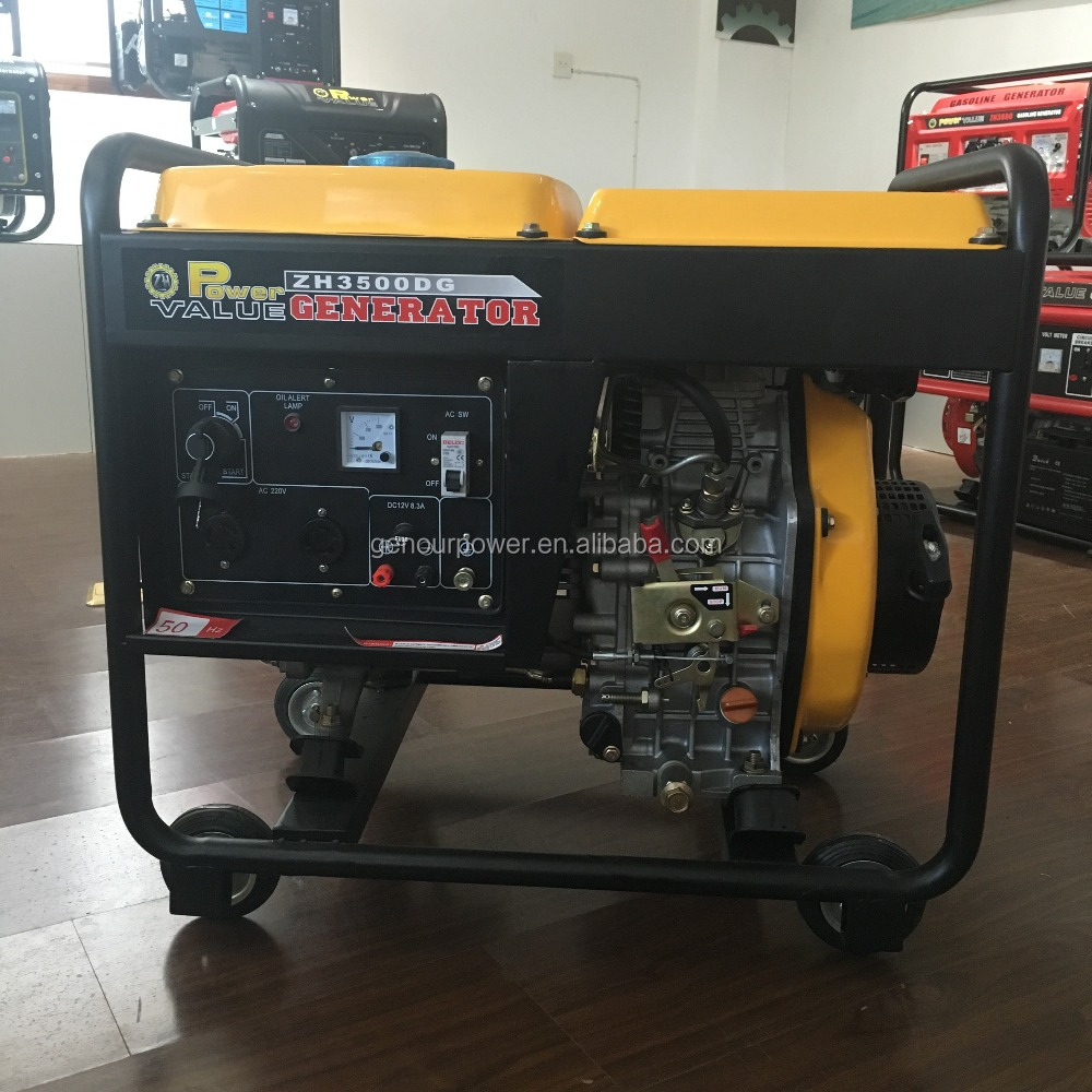 China Taizhou 2kw Cheap 3 Phase Iso9001 Ce Diesel Generator Wiring Three Db Diagram Img 2419 2418 2421 2422 2420