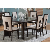 Modern furniture/wooden dining table and chair set XYN1476