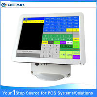15 inch Fanless All in One POS System Terminal