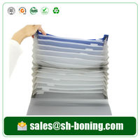 Document invoice bag with index