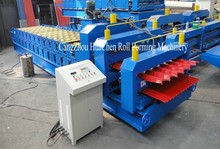 High Quality Low Price Roof Tile Machine, Automatic Corrugated Metal Roof Tile Making Machine