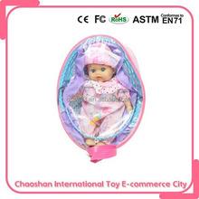 9 polegadas pequena boneca baby alive com mobília da boneca