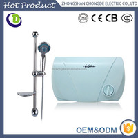 Intelligent Elegant Appearance 12 months Warranty Tankless Hot Water Heating Bath Tub Low Power Instant Electric Water Heater