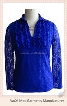 women's lace blouse and skirt blouse designs for office fashion blouse