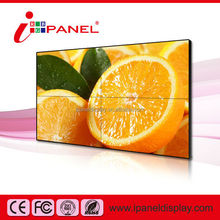 Seamless 6.7mm Lcd Video Wall/Wall mount Lcd TV Wall Player