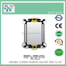 beveled mirror for bathroom