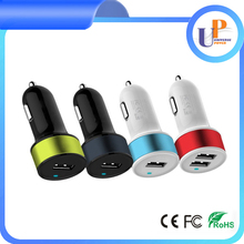 high quality mini car charger dual usb car charger for tablet pc