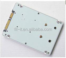 "mSATA to 2.5 SATA Adapter card Mini PCI-E mSATA SSD To 2.5"" SATA III adapter card with case"