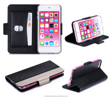 2015 Guangzhou New Arrival Factory Price PU Leather Case for ipod touch 6
