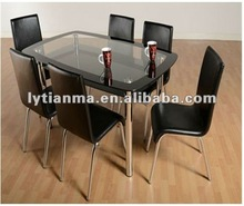 2012 new style tempered glass conference table
