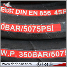 2015 new product flexible en853 1sn st extremely high pressure hose