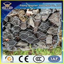 Quality guarantee Galvanized gabion / PVC coated gabion basket / gabion box stone retaining wall cage
