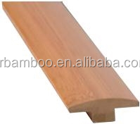 T-molding Carbonized Color Bamboo Flooring Accessories of Matt Finish for Indoor Use-KE-A006