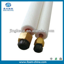 Manufacture Insulation Pipe for heat insulation with aluminum foil