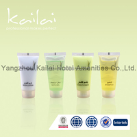 OEM 2015 Disposable Hot Sale Hotel Travel Cosmetic Airline Tube/Hair Care Hotel Plastic Cosmetic Tube/tube packaging for hotels