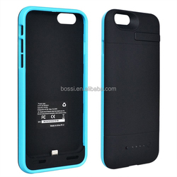 2015 New Design 4800mAh External Battery Plus Pack Case Power Bank Case for Iphone 6 Plus with CE RoHS FCC Certificate