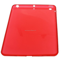 2015 New Ultr-thin Crystal Clear Soft Tpu back cover Case For ipad mini 1/2/3