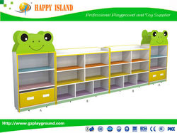Factory Directly Supply High Quality Frog Design Combined Cabinet kindergarten room cabinet