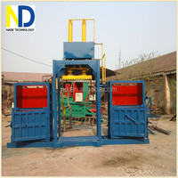 Clothes Double Chamber Baler Machine, baler machine for used clothing