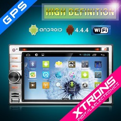 XTRONS 2015 Newest Product TD630AS-6.2'' HD Digital Multi-touch Screen Android 4.4 1080P Video Wifi Double Din Car DVD Player