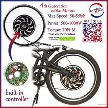 48V 1000W electric bicycle conversion bike kit hub motor