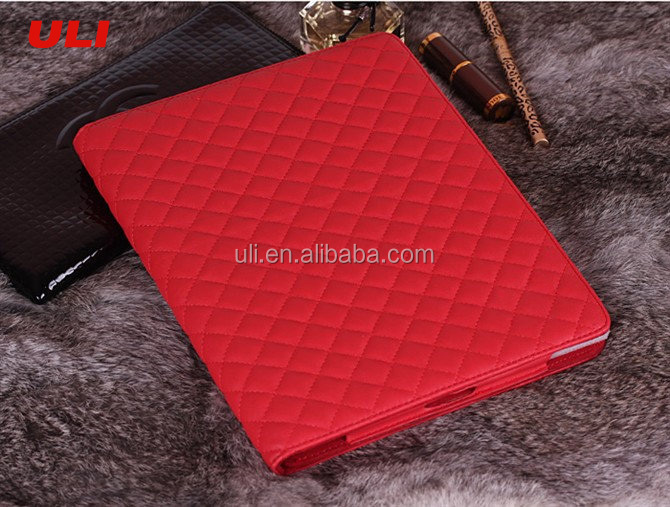 For ipad case with auto sleep wake function,leather tablet case for ipad case