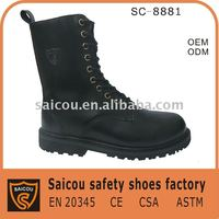 steel toe heated safety shoes factory (SC-8881)