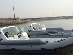 6.8M hypalon inflatable fishing boat