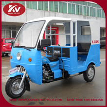 India new design fashion yellow passenger tricycles taxi with cabin