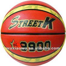 Foam ball/ sponge rubber soft basketball / wholesale sports balls(FRB013)