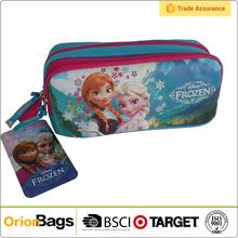 New Frozen Princess Pen Pounch Bag Student Pencil Case