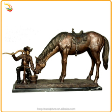 Life Size Animal Statue Metal Outdoor Horse Sculpture For Sale