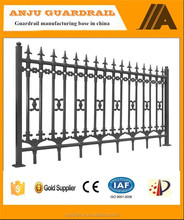 Direct factory of Euro steel fence designs with high quality lower price DK001