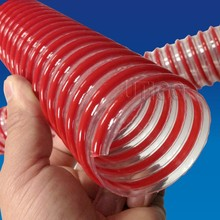 Flexible with low weight PVC corrugated plastic pipe