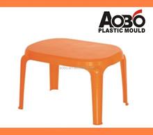 Plastic Rectangle Tea Table Mould One Mould