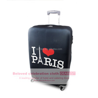 Protective spandex luggage covers case