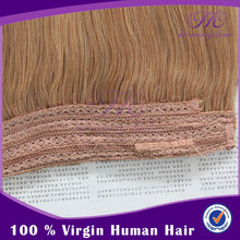 Can be dyed cheap 100% human hair flip in hair extension