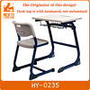 modern electroplating student desk and chair for school
