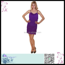 Purple fantasy party flapper costume JXCM-0239