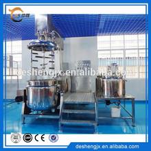 Crema cosmética vacío emulsión de mezcla y máquina de mezcla