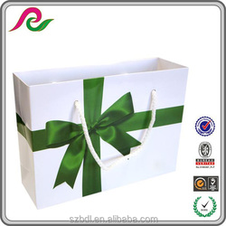 batterfly customized paper bag shopping, paper shopping bag