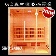 New design of luxury portable weight loss infrared sauna room with CE/ETL/TUV/ROSE CERTIFICATE