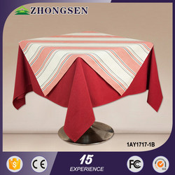 round check and fringe design white and grey dots rectangular fitted table cloth