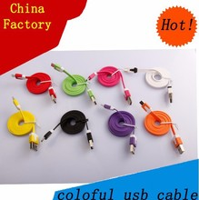 China factory car dashboard flush mount usb extension cable for Smartphones charging usb cord