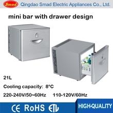 21L hotel mini bar refrigerator drawer cabinet