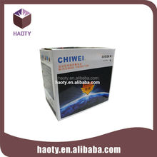 Corrugated packaging for outdoor electrical distribution box
