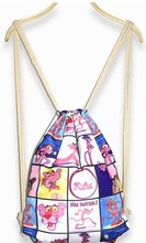Colorful Fashion Nature All Print Canvans Drawstring Shopping Bag