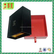 Glossy shiny surface drawer sliding packaging box for belt.