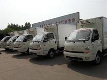 FRP/GRP fiberglass truck body/ Refrigerated cargo box/van truck body for fish